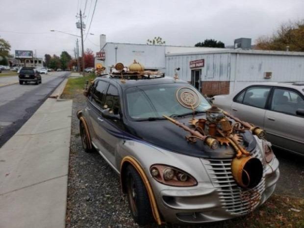 Isten állatkertje autó kocsi egyedi különleges ritka