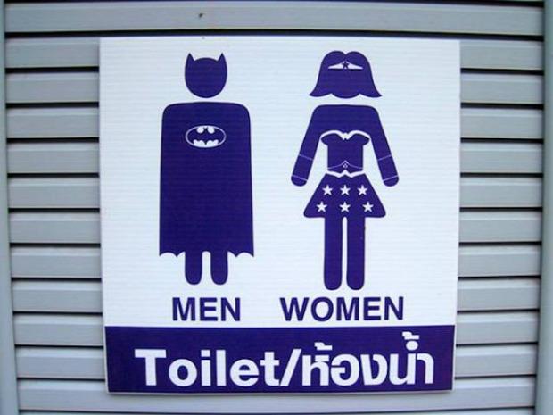 A világ érdekes WC vécé toilet mosdó tábla