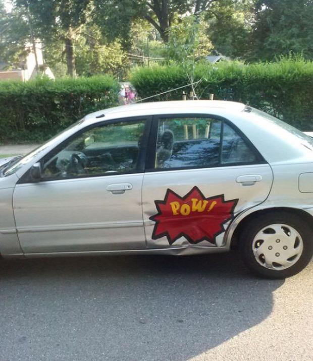 A világ érdekes kocsi dizájn autó tuning