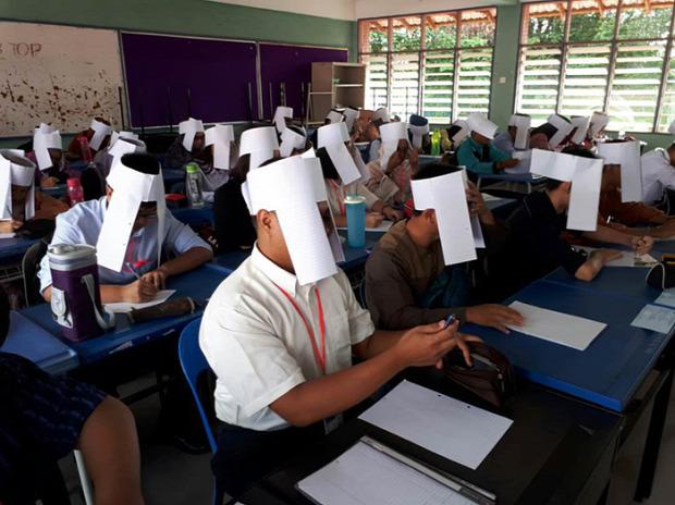 A világ érdekes iskola vizsga dolgozat puskázás