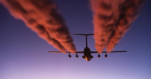 környezetszennyezés repülés