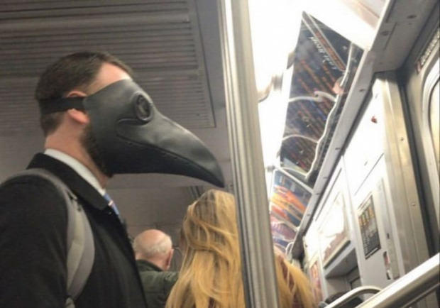 maszk metró New York