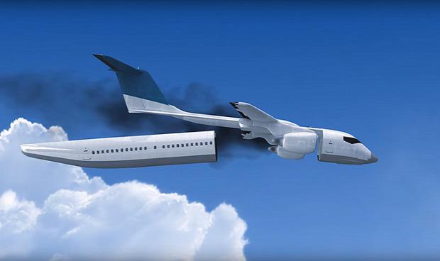 kütyülógia repülőgép utaskabin mentés ejtőernyő