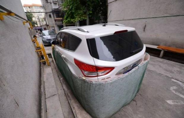 A világ érdekes Kína Nanning patkány autó szoknya