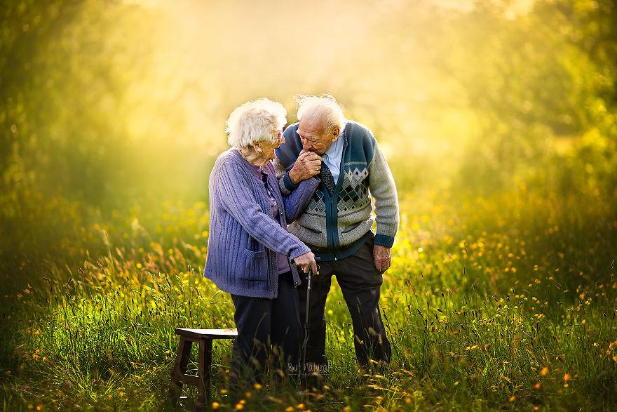 öreg idős örök szerelem