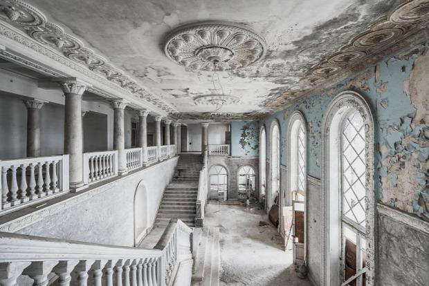 A világ érdedekes elhagyott helyek
