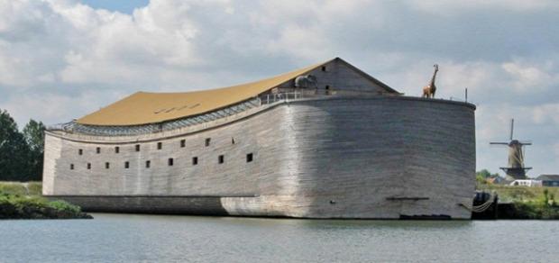 A világ érdekes Noé bárka hasonmás másolat