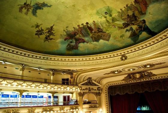 A világ érdekes legszebb  könyvesbolt színház Argentína