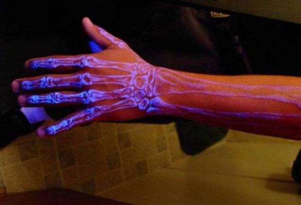 A világ érdekes tetoválás tetkó UV