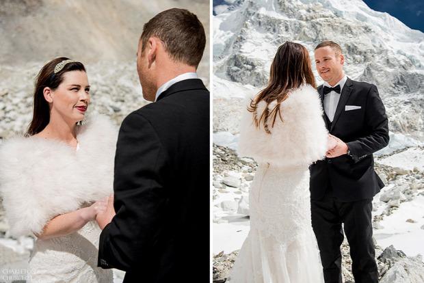 A világ érdekes Nepál Mount Everest esküvő Csomolungma