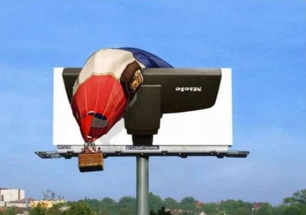 A világ érdekes reklám hirdetés utcai kültéri zseniális humoros vicces