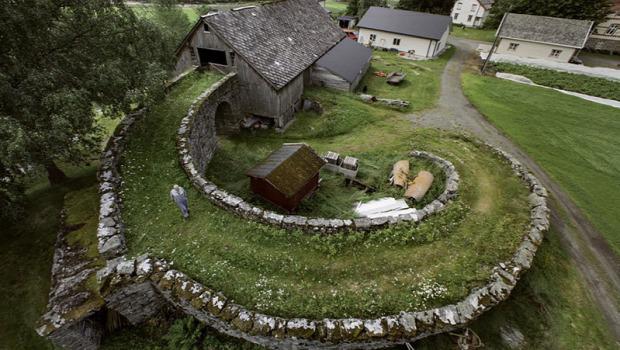 A világ érdekes Norvégia ház épület templom