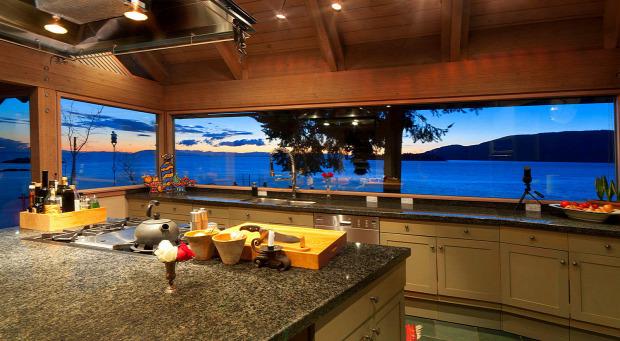 A világ érdekes ház tengerpart Kanad