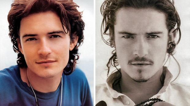 A világ érdekes előtt és után szakáll híres színész