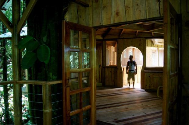 A világ érdekes Costa Rica ház faház