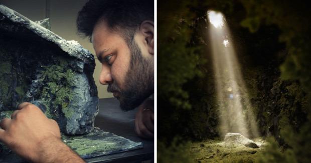A világ érdekes Vatsal Kataria indiai fotós miniatűr álom kép