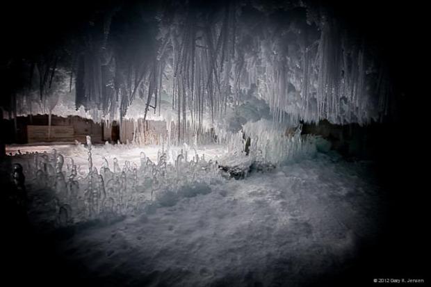 A világ érdekes raktár hűtőház jég olvasztás