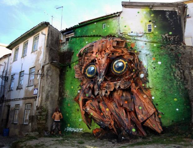 szobor szemét portugál a világ érdekes