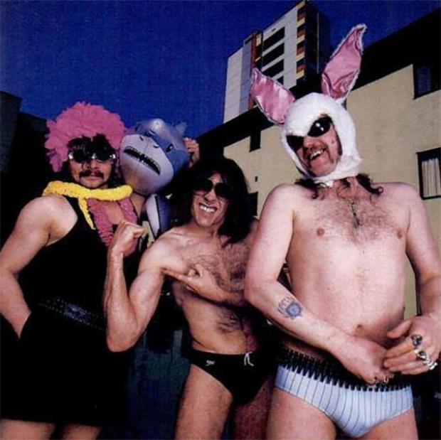 A világ érdekes metal rock banda együttes 80-as évek