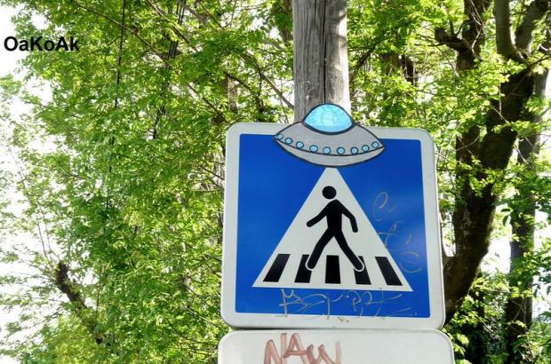 A világ érdekes Street art utcai művészet vicces