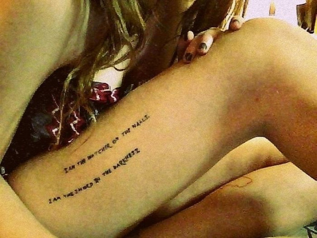 A világ érdekes tetoválás tetkó Trónok harca