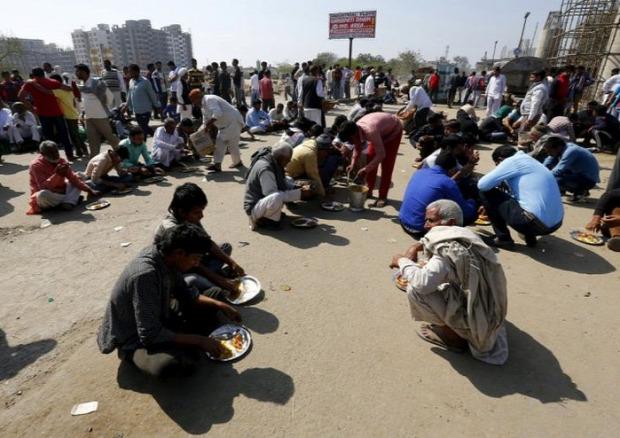 A világ érdekes India nyomor szegénység utca