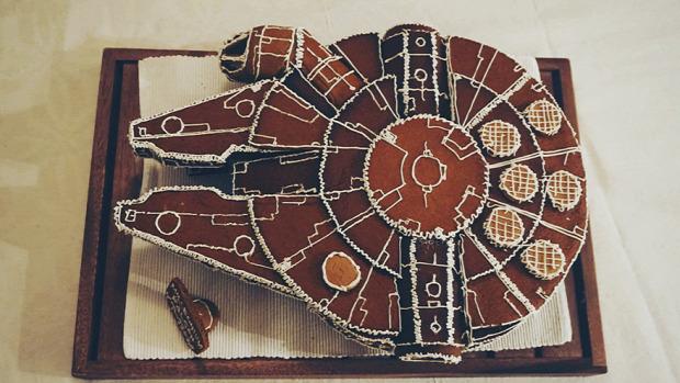 A világ érdekes SW Star Wars mézeskalács romboló lépegető
