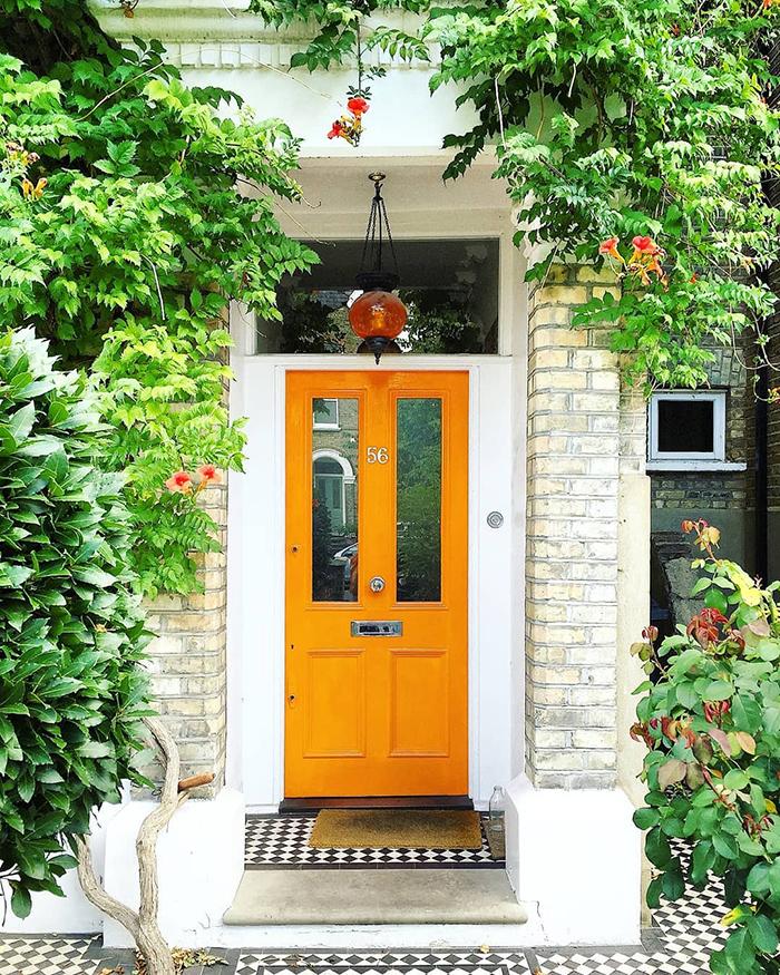 London bejárati ajtó