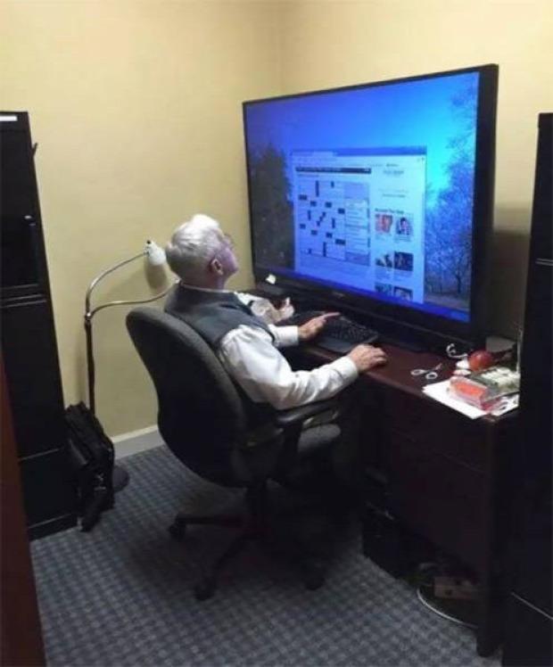 A világ érdekes nagypapa laza fiatalos