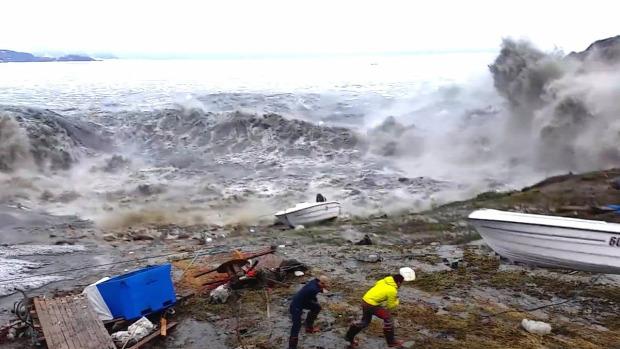 grönland földrengés cunami megacunami