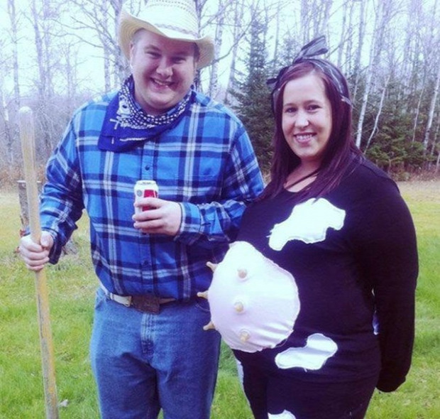 A világ érdekes Halloween jelmez kismama terhes állapotos várandós