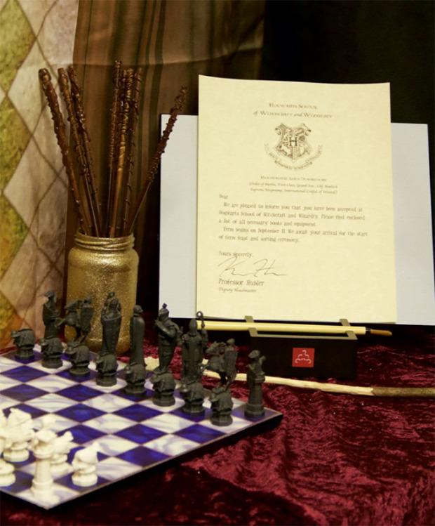 A világ érdekes középiskola gimnázium Harry Potter Roxfort stílus