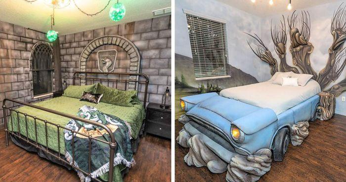 Harry potter ház téma airbnb