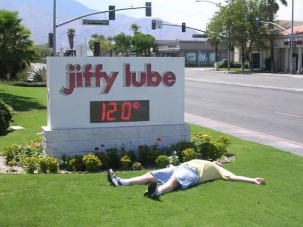 A világ érdekes meleg forróság kánikula