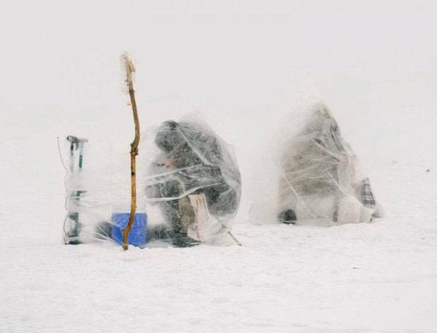 A világ érdekes tél hó jég