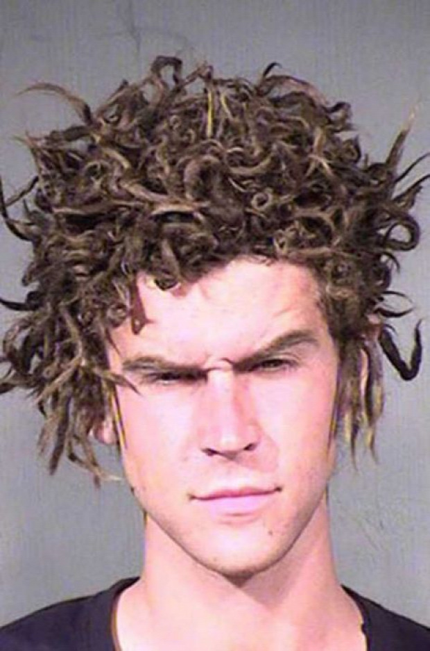 A világ érdekes haj frizura fej