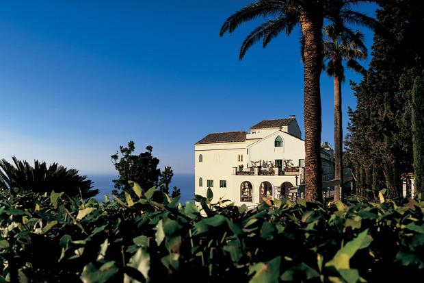 A világ érdekes Olaszország Ravello kastély szálló XI. század
