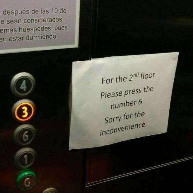 A világ érdekes hotelű szálloda berendezés hiba