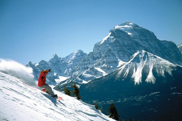 A világ érdekes Kanada szálló gleccser tó