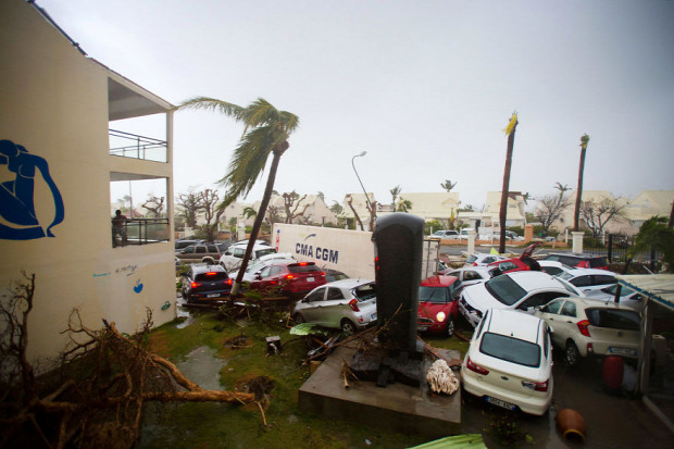 A világ érdekes Írma hurrikán