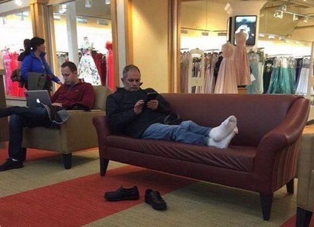 A világ érdekes férj vásárol