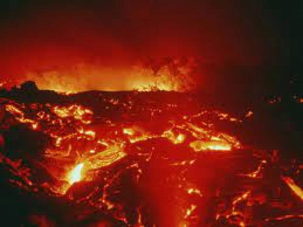 kihalás vulkán szibéria trap