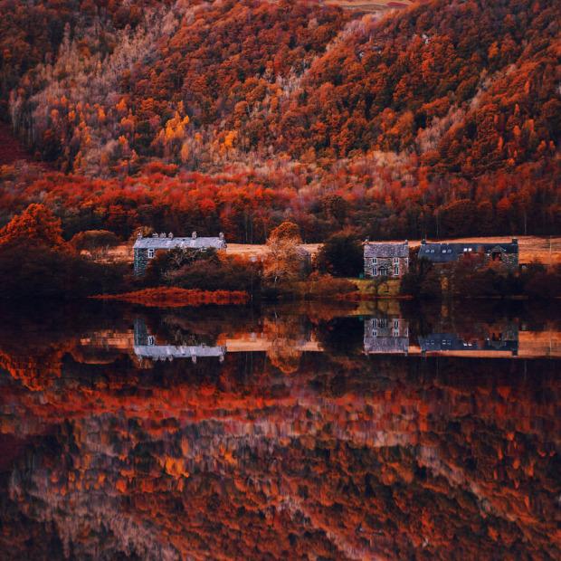 A világ érdekes ősz színek