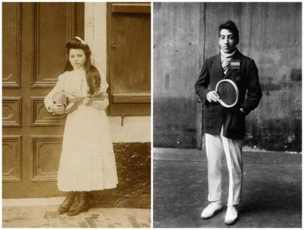 A világ érdekes retró vintage vintázs fiatalok 100 év