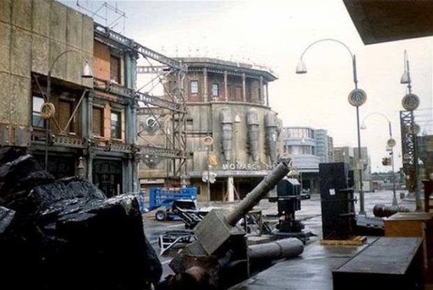 A világ érdekes film forgatás helyszín elhagyott