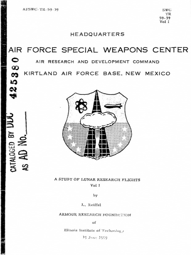 atombomba niukleáris fegyver világűr Hold műhold