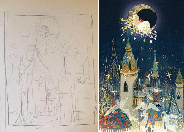 skeccs vázlat  rajz festmény