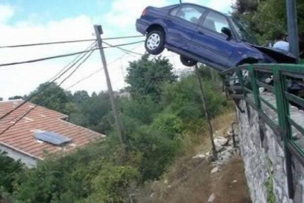 a világ érdekes baleset szerencse mázli megmenekülés