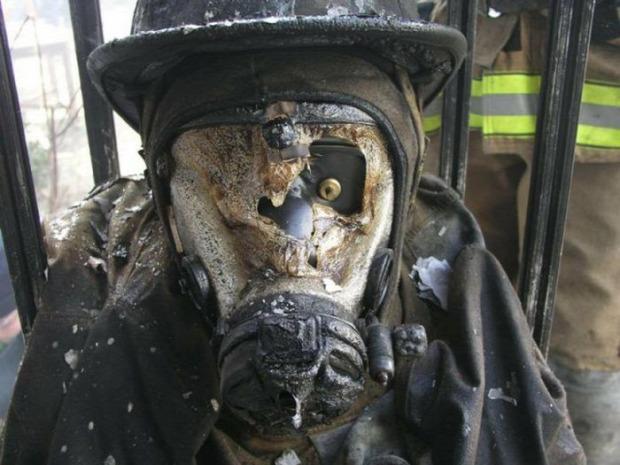 A világ érdekes tűzoltó veszélyes munka