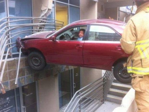 A világ érdekes autó baleset